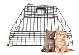 New! Pet Carry Bath Cage, Shower cage Carrier for Cats and Dogs