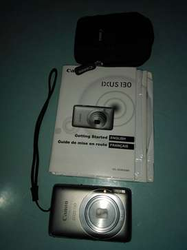 Canon Ixus 130 kamera met 16GB SD Card