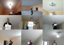 Тканевый натяжной потолок. Ткань на потолок, сделай сам ! От завода