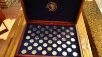 Image of 25kt gold coin collection of u.s
