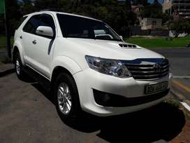 2012 MODEL TOYOTA FORTUNER 3.0 D4D DIESEL