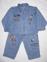 Джинсовые костюмчики и джинсы для мальчика