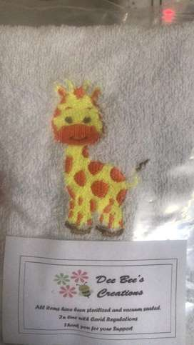 Embroidery on Baby Items