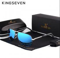 Okulary przeciwsłoneczne polaryzacyjne Kingseven komplet