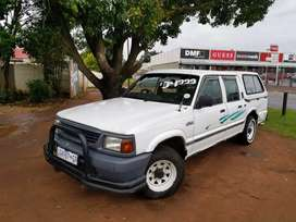 Ford Courier 2.5TD Double Cab Bakkie with Canopy