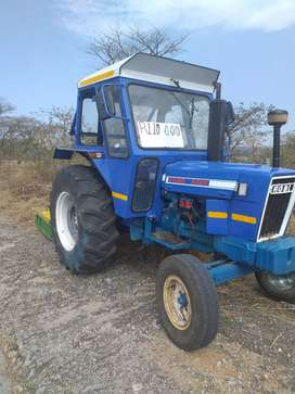 Ford 5000 with slasher