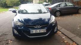 2012  HYUNDAI ELANTRA 1.6 MANUAL