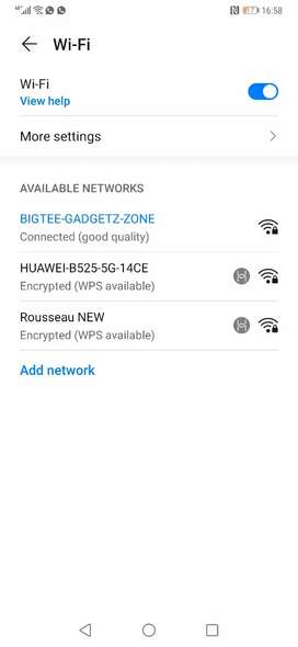 Hauwei 5g and 4 g routers