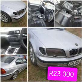 BMW 3 series It needs a petrol pump that's why I reduced the price