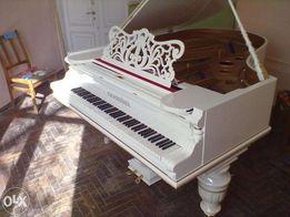 рояль шредер белый салонный