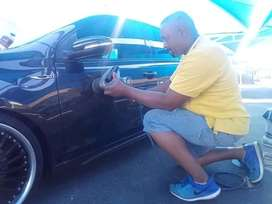 CAR FLATTING CAR POLISHING GLAZING JOBURG