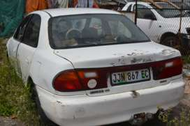 Mazda Etude and Nissan Central for stripping