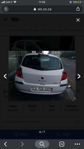Clean Renault for sale