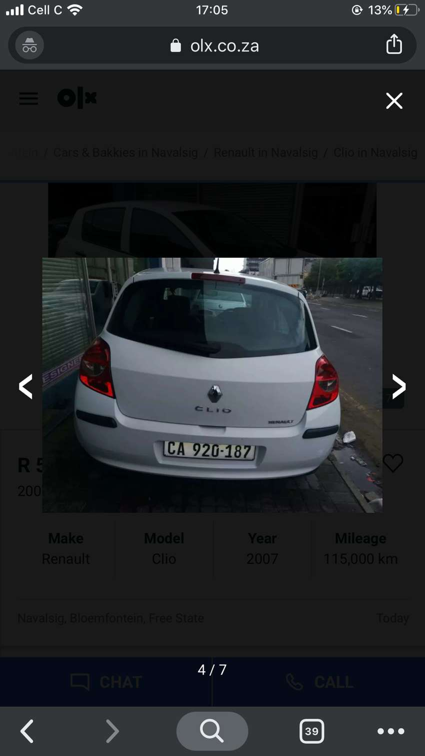 Clean Renault for sale 0