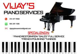 Piano Services. Sales and Restoration