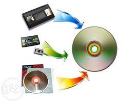 Оцифровка видео видеокассет и аудиокассет