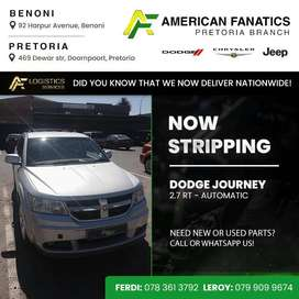 Now Stripping Dodge Journey 2.7 RT  Automatic for parts!