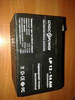 Продам аккумуляторную батарею LogicPower LP12-14 12V 14Ah