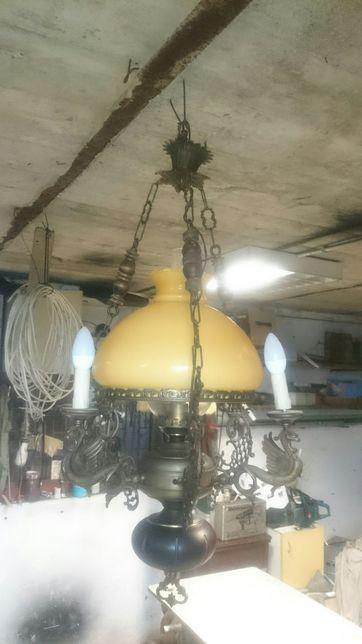 lampa - żyrandol lampa naftowa wisząca Międzyrzec Podlaski - image 3