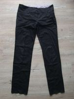 Proste spodnie eleganckie jeans r L