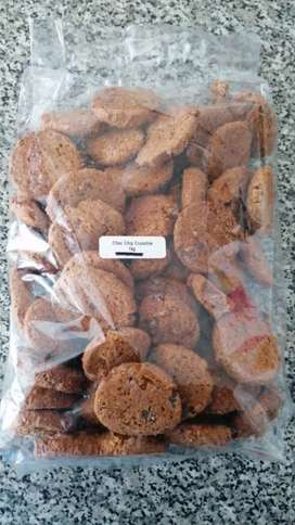 Biscuits for sale.