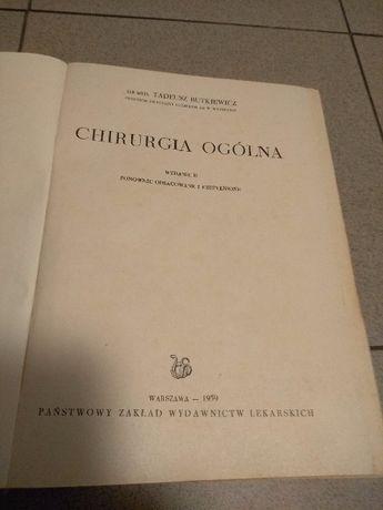 Chirurgia ogólna wydanie II Warszawa 1959r. , Tadeusz Butkiewicz Jarosław - image 2