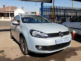 2009 VW Golf 6 1.4Tsi with a sunroof