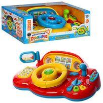 """Детский руль 7318 """"Я тоже рулю"""" - развивающая музыкальная игрушка!"""