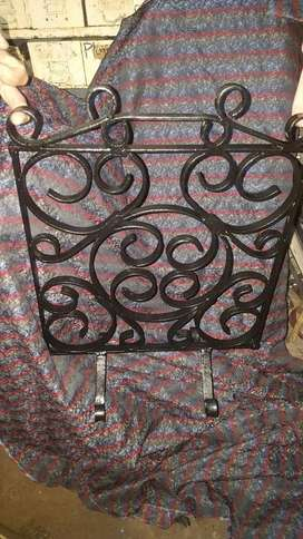 Standing Fire Screen