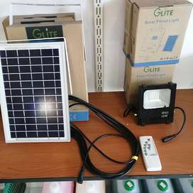 Solar Led spots and panels