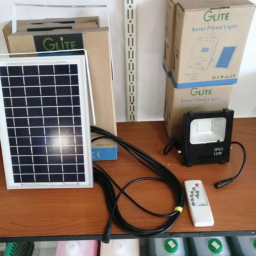 Solar Led spots and panels 0