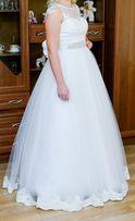 Sprzedam suknię ślubną oraz marynarkę