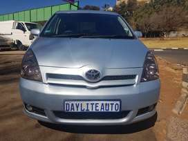 2007 Toyota Corolla Verso 1.6 with 7 Seats