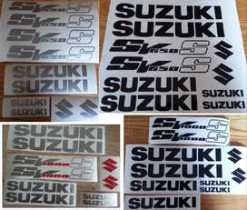 Suzuki SV 650S / SV 1000S vinyl cut decals stickers kits
