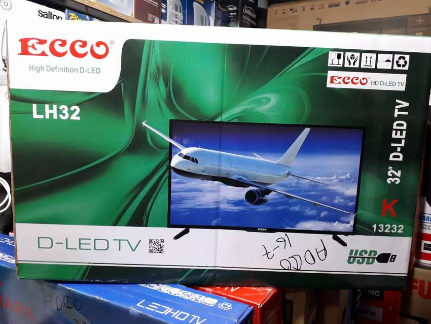 Ecco 32inch Super Slim LED TV for only R1900 with a Warranty 0