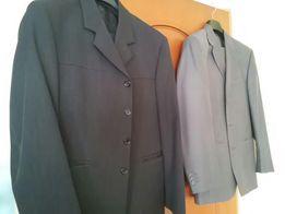 Garnitur szefler marynarka spodnie krawat