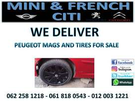 Peugeot mags and tires for sale