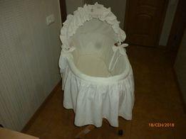 кроватка из лозы коляска