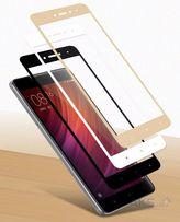 Защитное стекло на весь экран Xiaomi Redmi Note 5/4X/4/4A/5A/5/Plus/6