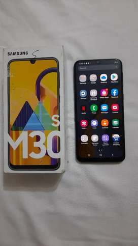 Samsung Galaxy M30s with all original accessories