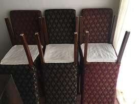 Dining room chairs for sale x6 .R1500