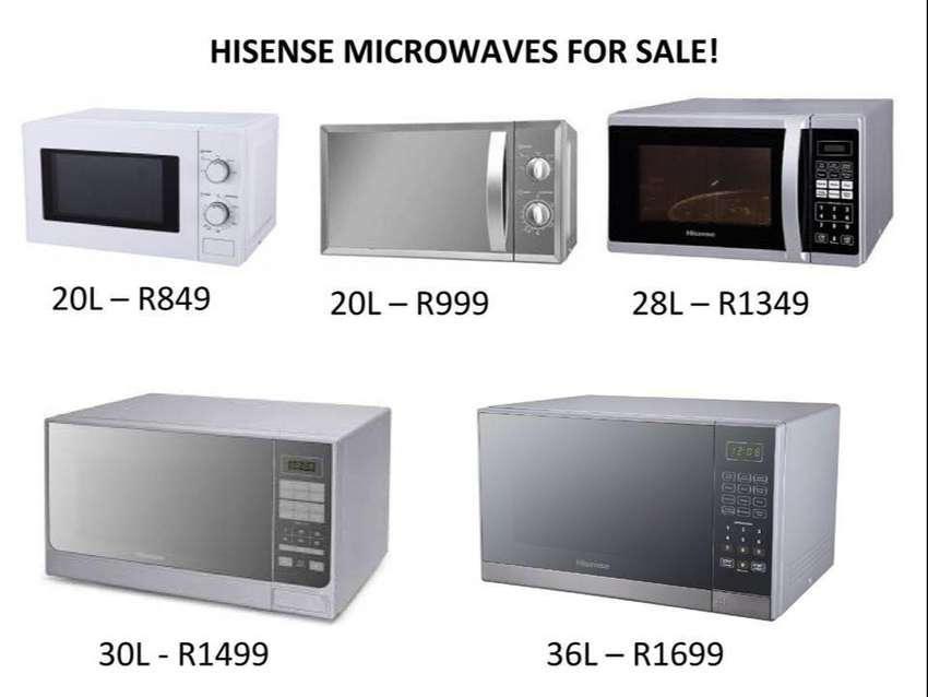 Hisense Microwaves for Sale! 0