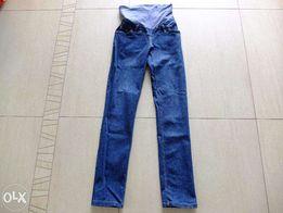 Spodnie ciążowe z regulacją w pasie rozmiar S