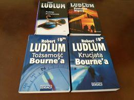 Ludlum Robert - kolekcja 4 książek