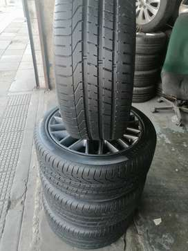SET OF RIMS AND TYRES FORD FORD LAZY, MERCEDES RUN FLAT FOR SALE