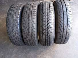 4×165/80/13 DUNLOP tyres for sale