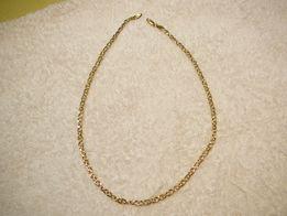 złoty łańcuszek 18- o karatowy