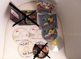 Игры на дисках: GTA, Fifa, Sims