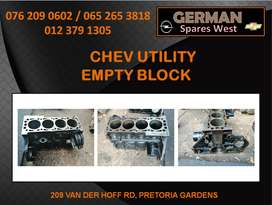 CHEV UTILITY USED EMPTY BLOCK FOR SALE
