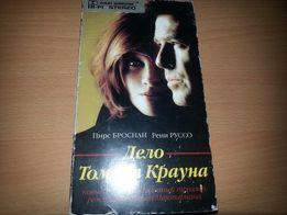 """Видеокассета с х/ф """"Афёра Томаса Крауна"""" на англ.языке с англ.субтитр."""